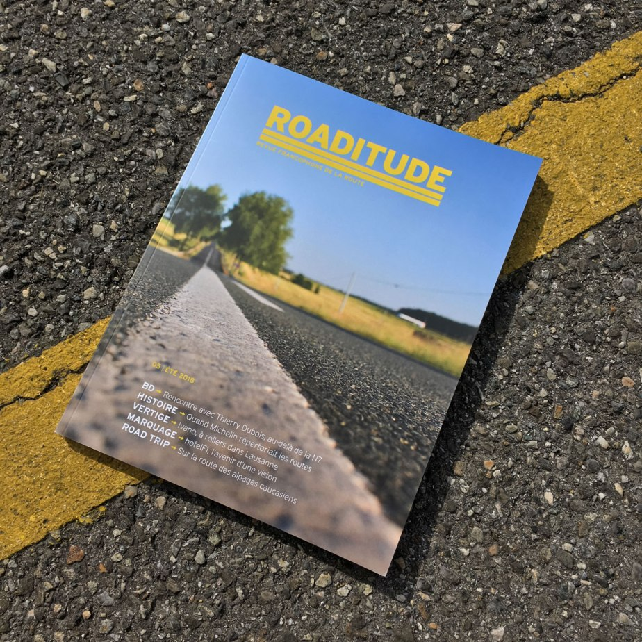 Couverture du magazine Roaditude